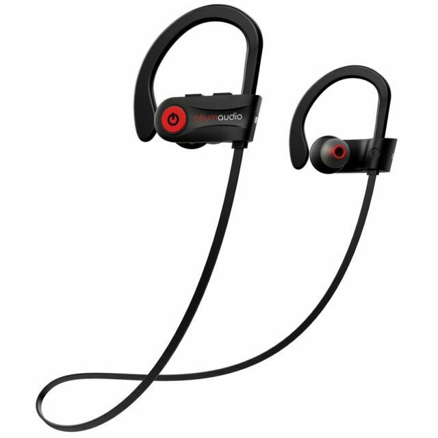 Otium 1th21b Waterproof Ipx7 Bluetooth Earbuds Sports Wireless Beats Black For Sale Online Ebay