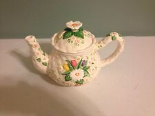 Burton And Burton Hand-painted Tea Pot