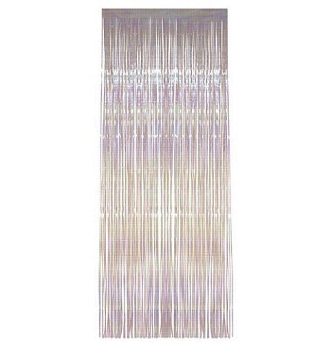 environ 2.44 m x 3 ft environ 0.91 m - Hanging Décorations de fête Iridescent shimmer FEUILLE PORTE RIDEAUX 8 FT