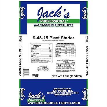 Motor de arranque planta Jacks jr Peters 9-45-15 25 libras