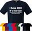 J/'ai CDO il est comme TOC Rétro T-shirt s-3XL Funny Cadeau Lui Papa Noël