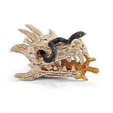 nuevo! Schleich Dragon isla con tesoro 42436