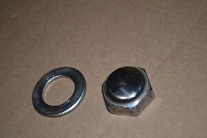 HONDA SHOCK NUTS /& WASHERS CL350 SL350 CL360 CL450 GENUINE OEM PARTS