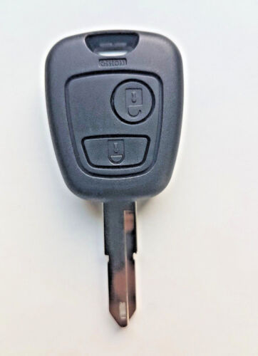 Peugeot 106 206 306 2 Button Remote Key Fob Case