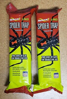 Rescue  Trap  For Spiders 3 pk