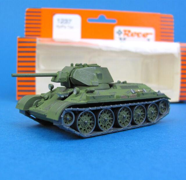 Roco Minitanks H0 1237 KAMPF-PANZER T-34 UdSSR WWII SU HO 1:87 OVP Komo T34