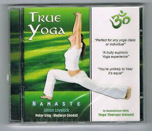TRUE-YOGA-NAMASTE-SIMON-LOVELOCK-CD-12-TRACKS-2010-NEUF-NEW-NEU