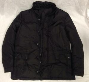 3182acf54 Details about Gucci Men's size 58 Goose Down Filled Black Winter Jacket Coat