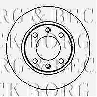 BORG /& BECK BBD4979 BRAKE DISCS PAIR REAR AXLE PA567200C OE QUALITY