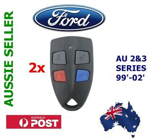2x-Ford-AU-Falcon-FPV-XR6-XR8-Car-Series-2-amp-3-99-039-02-039-AU2-AU3-remote-key