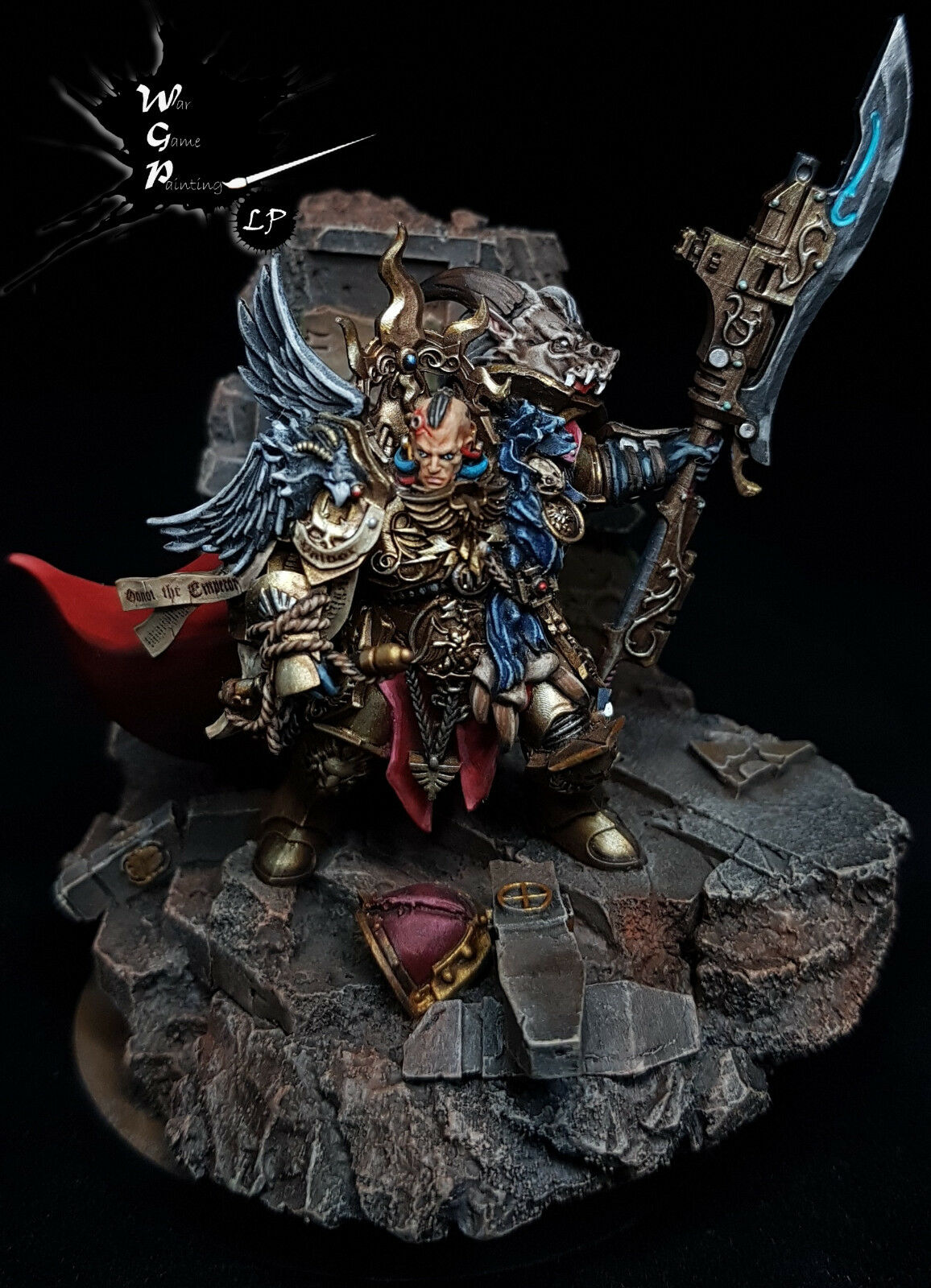 Constantin Valdor Captain  General Commission Superbly Painted Warhammer 40K  solo per te