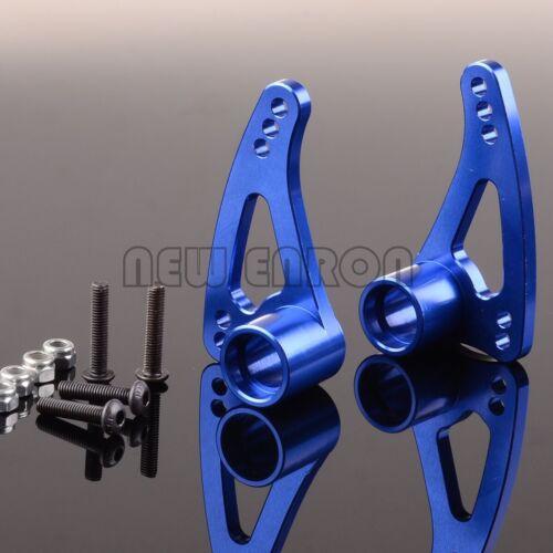Blue Metal Front Multi-Mount Long Rocker Arms for Traxxas 1:10 E-Revo 3.3 Summit