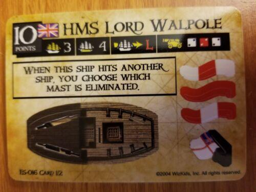 Pirates of the Spanish Main #ES-016 HMS Lord Walpole Pocketmodel CSG