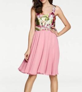 new product 569ff 60feb Details zu Ashley Brooke Designer Kleid rosé bunt Gr 38 & 40 Cocktailkleid  Abendkleid