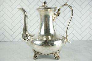 Vintage James Dixon & Sons Tea Pot Electroplate Britannia Metal Silver Plated