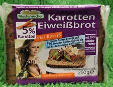 (9,96€/KG) Mestemacher Karotten Eiweißbrot mit 5% Karotten viel Eiweiß 250g PK