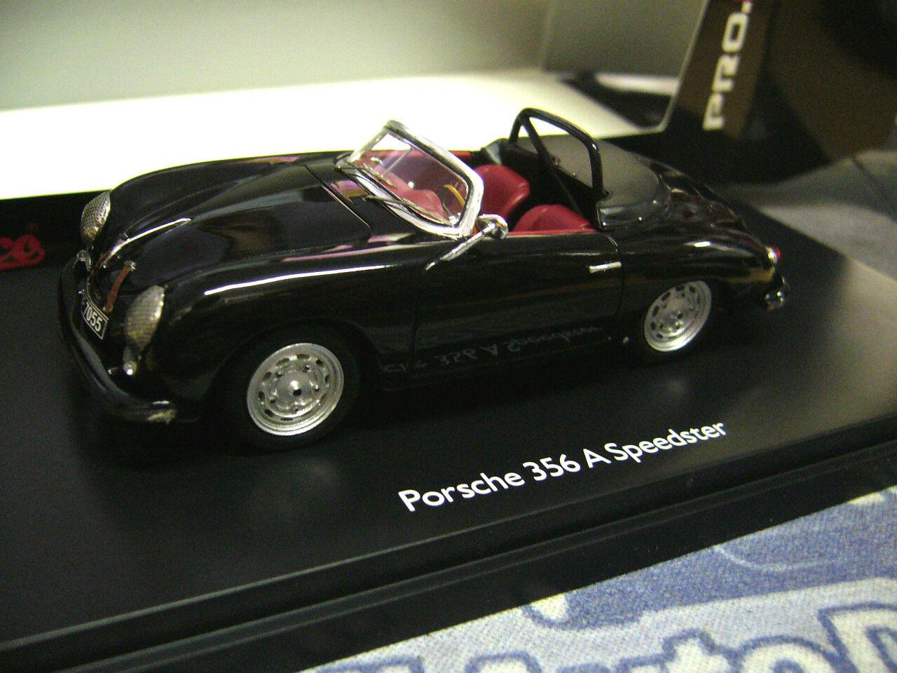 Porsche 356 a Speedster negro negro Limited Schuco resin highenddetail 1 43