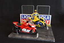 QSP Diorama 1:12 Starting grid with wall and 2 fences (Liqui Moly)