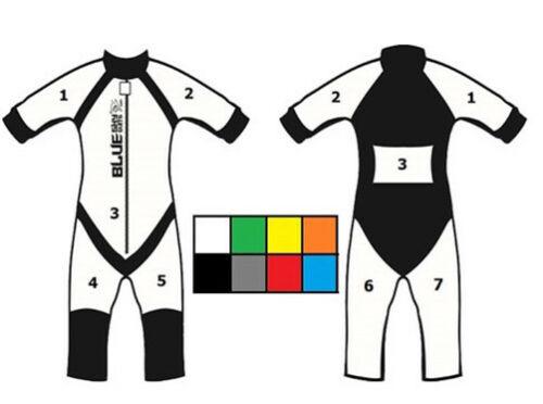 Skydive Anzug Suit BlueSkySuits Model Insta Tunnel Jumpsuit Skydiving