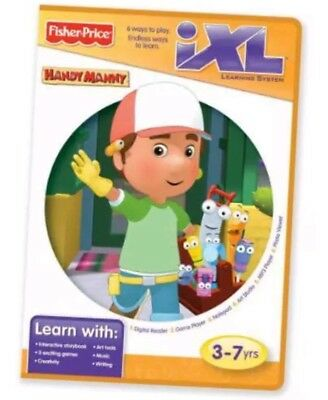 Fisher-Price iXL Learning System Software Disney Handy Manny R9707 4213D622