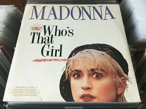 Madonna-Who-039-s-That-Girl-12-034-Maxi-Single-45rpm-Out-Of-Print-NM-EX-POLP2789
