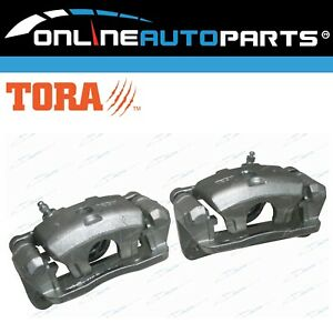 Pair-Rear-Disc-Brake-Calipers-Assembly-fit-Pajero-NH-NJ-NK-NL-1991-to-2000-Wagon