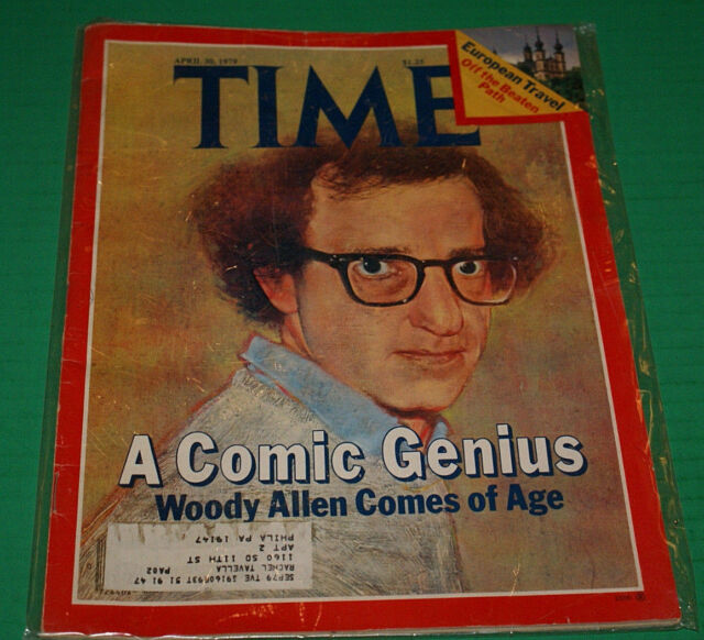 Woody Allen; Time Magazine - April 30,1979 Vg Out Of Print