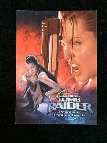 2000 Inkworks Lara Croft Tomb Raider Promo Trading Card TR4