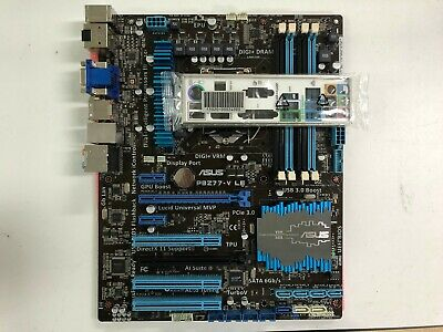 ASUS P8Z77-V LE PLUS LGA1155 Z77 ATX motherboard with I//O shield By DHL OR EMS