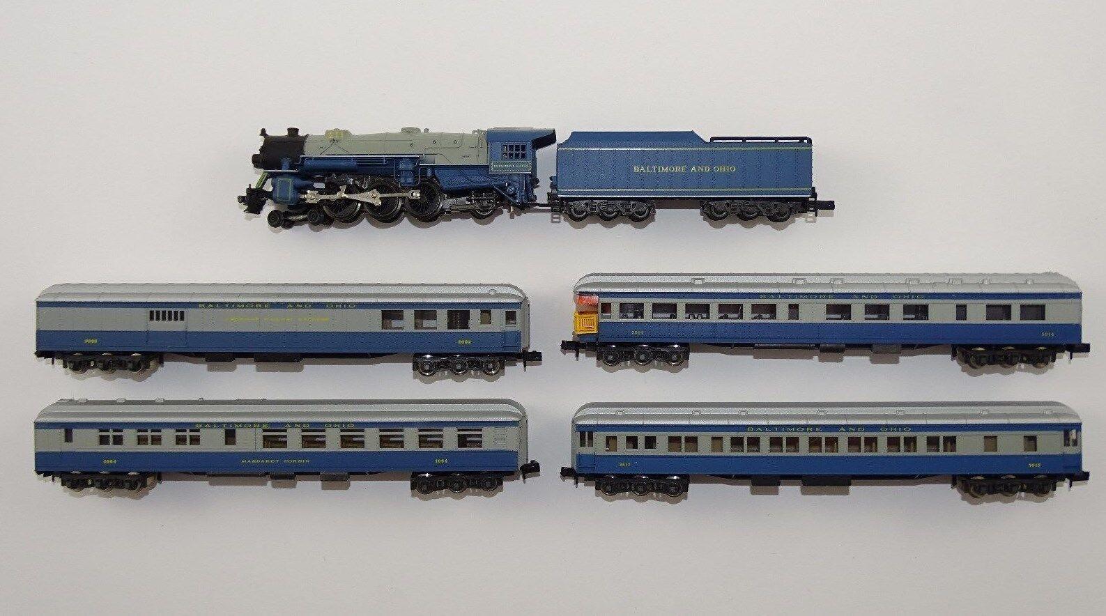 RIVAROSSI Locomotiva a vapore convoglio the Capitole Limited Baltimore and Ohio