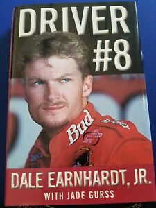 Driver-8-Book-by-Dale-Earnhardt-Jr-Autographed-by-Dale-and-Jade-First-Edition