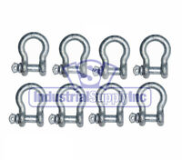 5/8 Alloy Screw Pin Clevis Anchor Shackle (8-pk)