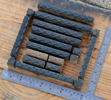 Letterpress Border Wooden Printing Blocks Ornaments Art Nouveau Wood Ginkgo