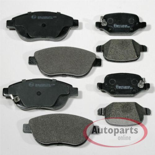 Bremsbeläge Bremsklötze Bremsen für vorne hinten Vorderachse Hinterachse