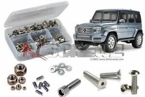 #58675 Stainless Steel Screw Kit tam220 RCScrewZ Tamiya CC02 Chassis//G500