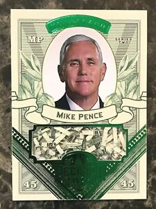 Mike-Pence-2016-Decision-Money-Card-GREEN-FOIL-MO52