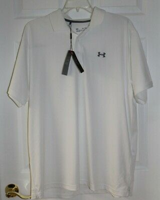 Activewear Tops Men's Sz 2xl Loose Fit White Henley Shirt By Under Armour-nwt's Lustrous
