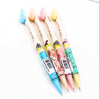 Retro Pastel Girl Heart Mechanical Pencil Writing 0.5mm/0.7mm Office Gift A0078
