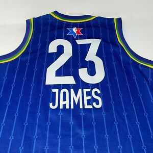 Lebron James Nike All Star Swingman Jersey Youth Size 10/12 Medium ...