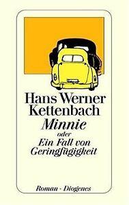 Minnie-oder-Ein-Fall-von-Geringfuegigkeit-von-Kettenbach-Buch-Zustand-gut