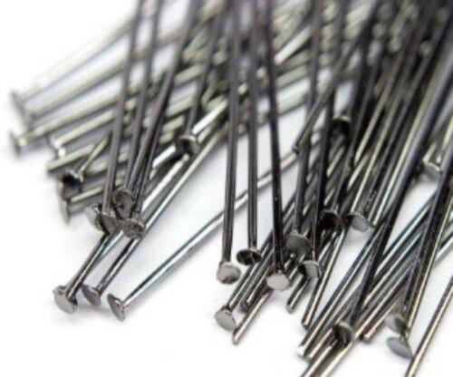 100 4 cm Altsilber KETTEL plumes aiguille nietstifte Accessoires kopfstift métal m188