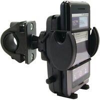 Sm432: Arkon Mega Grip Handlebar Mount W/ Safety Strap For Iphone, Smartphone