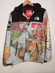 1e695c9e5 Details about sureme x north face M maps jacket