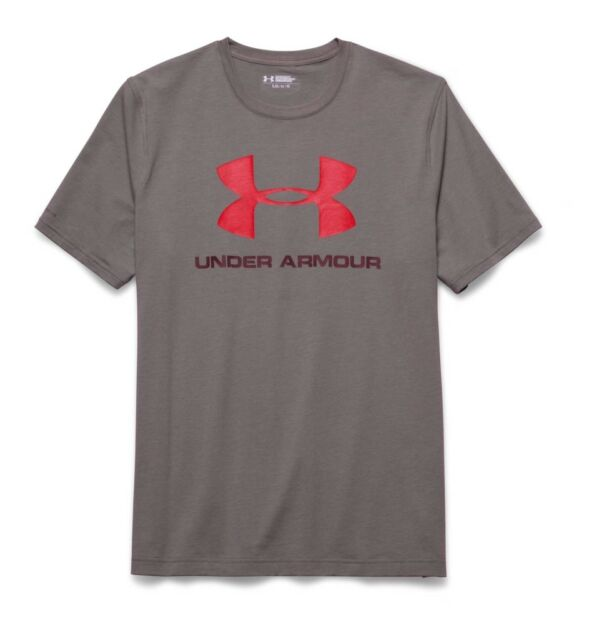 XL Red Under Armour UA Men/'s Sportstyle Logo SS T-Shirt New