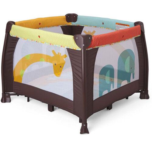 Play Yard Crib Portable Baby Folding Playpens  w Storage Travel Bag Lightweight