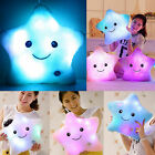 Romantic LED Light Up Glowing Pillow Soft Cosy Relax Cushion Love Star Bed Decor