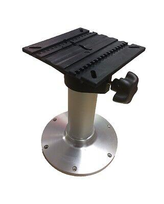 "Aluminium 12/""//300mm Fixed Height Boat Seat Pedestal"