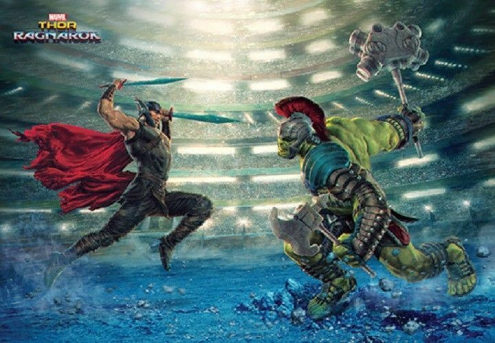 1000 Piece Jigsaw Puzzle Marvel Thor Ragnarok Bromide Home Decoration_NV