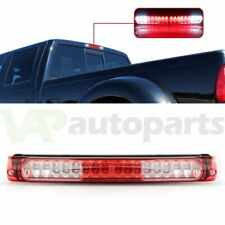 Chrome Fits 1997 2003 Ford F150 Led Third 3rd Tail Brake Light Lamp Red Lens Fits 1997 Ford F 150