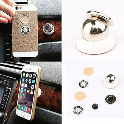 Universal 360°Rotating Car Sticky Magnetic Stand Holder Mount For iPhone 5 6 GPS